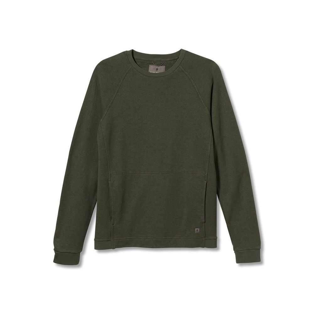Royal Robbins  Vacationer Hemp Terry Crew 長袖