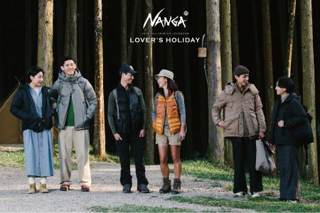 【NANGA】LOVER′S HOLIDAY 2019 FW LOOKBOOK